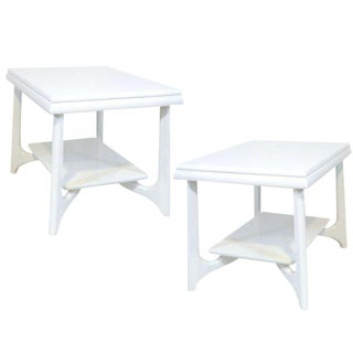 Pair of Pearsall End Tables