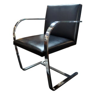BRNO Flatbar Cantilever Chair Mies van der Rohe