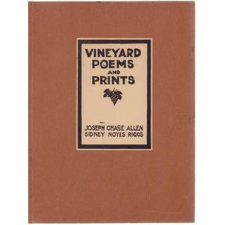 """Vineyard Poems and Prints"" Book Circa 1934"
