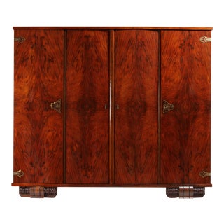 1920s Vintage French Art Deco Wardrobe