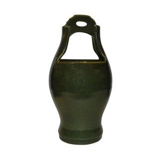 Green Handmade Porcelain Bucket Vase