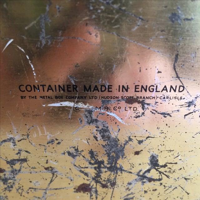 Chinoiserie Flowers English Metal Box - Image 7 of 7