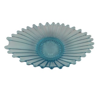 Ice Blue Crystal Catchall Ashtray