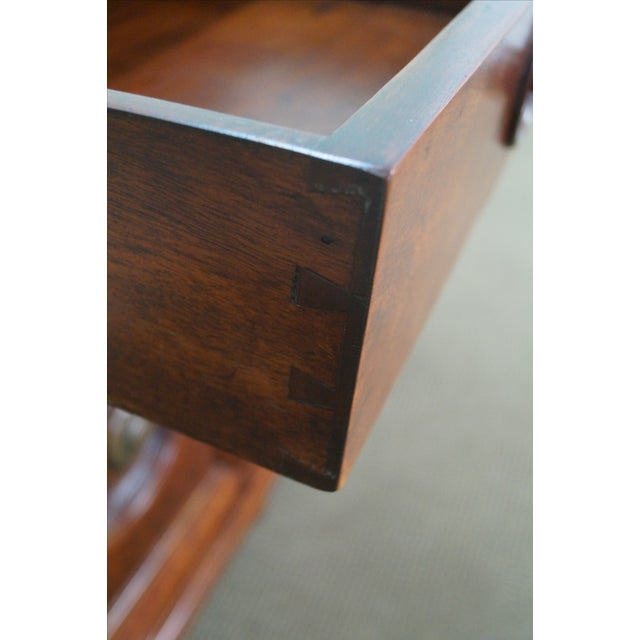 Quality Solid Mahogany Rustic Continental Server - Image 6 of 10