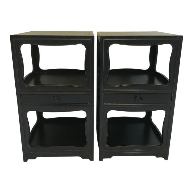 Baker Far East Collection Night Stands - A Pair - Image 1 of 10