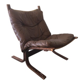Westnofa Siesta Leather & Rosewood Chair