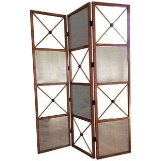 Biedermeier Style Wooden Screen