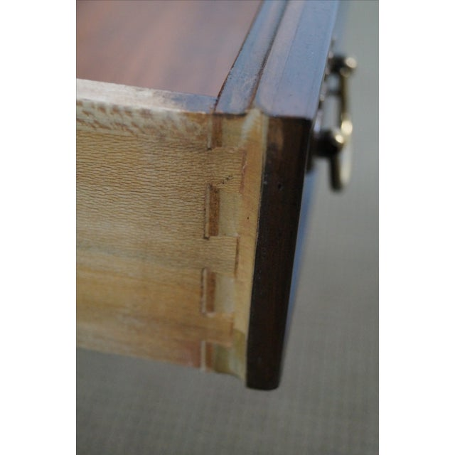 Drexel Heritage Chippendale-Style Nightstand - Image 6 of 10