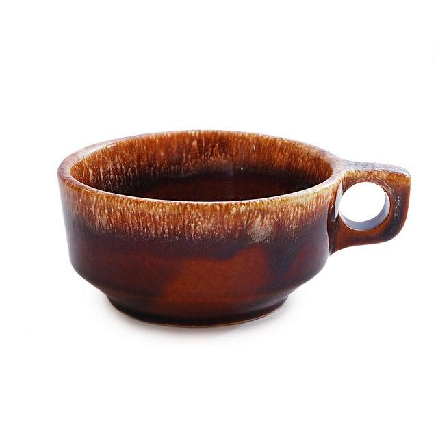Brown Drip Glaze Chili & Soup Mugs - Set of 5 - Image 3 of 5