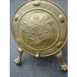 Image of Antique Brass Coal Scuttle
