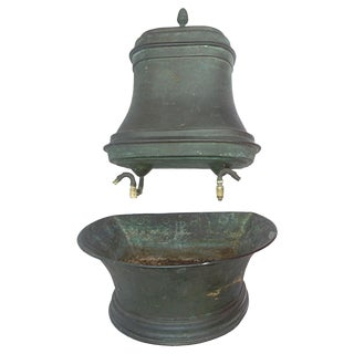 French Copper Lavabo