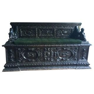 Italian Renaissance Bench