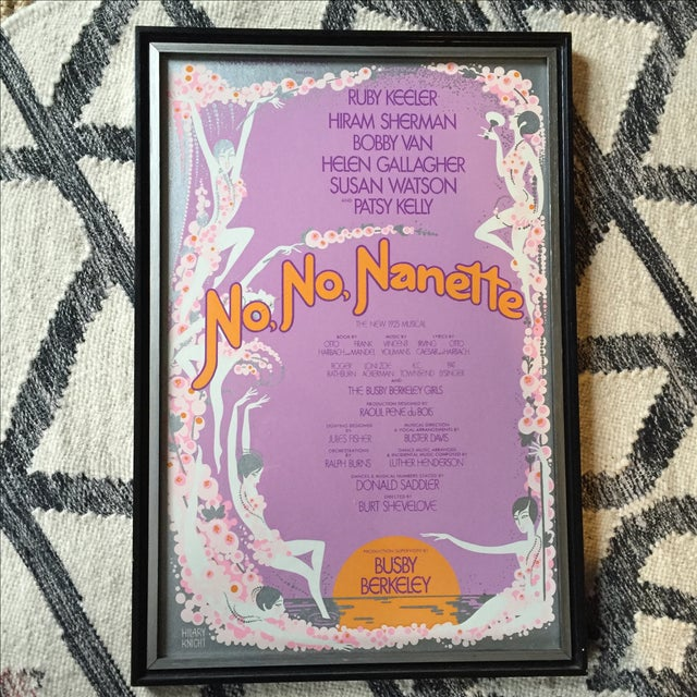 Image of No No Nanette Vintage Poster by Hilary Knight