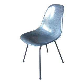 Eames for Herman Miller Mid-Century Grey Fiberglass Accent Chair