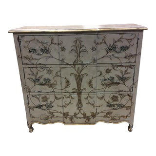 Guild Master French Painted Chest of Drawers