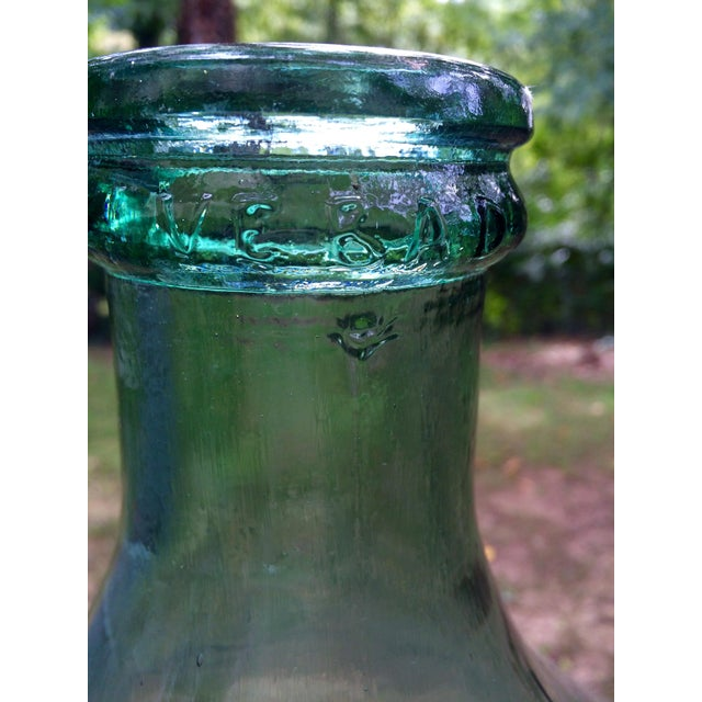 Vintage Italian Demijohn, Personalized Set - Image 6 of 8