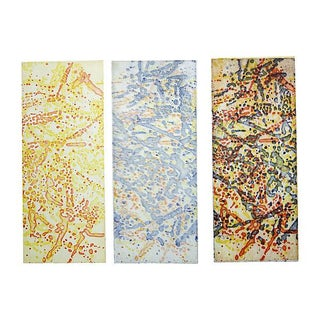 Shirley Stritch Abstract Triptych