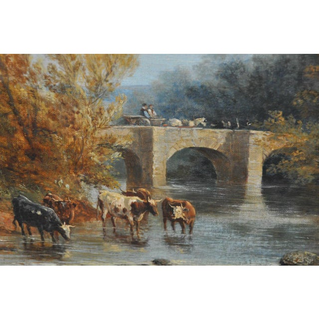 "James Baker Pyne ""Downham, Norfolk"" Original Oil Painting - Image 4 of 11"