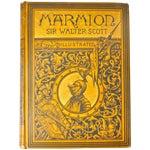 "Image of Sir Walter Scott ""Marmion"" Book, 1885"