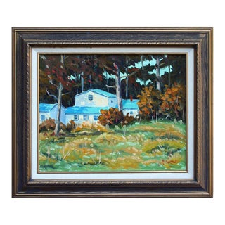 Pacific Grove Woods Painting
