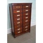 Image of Grange Cherry Multi-Drawer File Cabinet