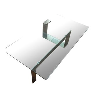 Contemporary Italian Glass Coffee Table