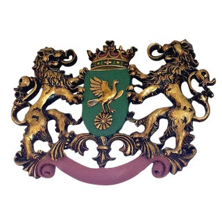 Coat of Arms Wall Sculpture