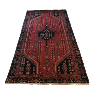 Old Persian Lilihan Malayer Rug - 4' x 7'7""