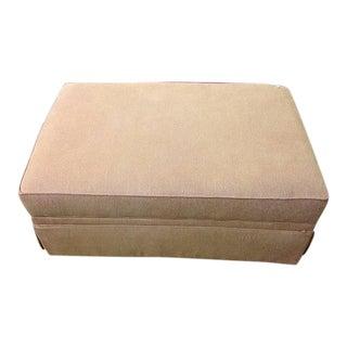 Ethan Allen Storage Upholstered Ottoman