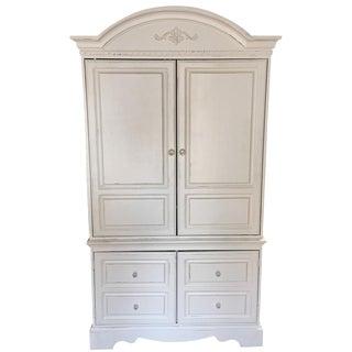 White Wood Armoire