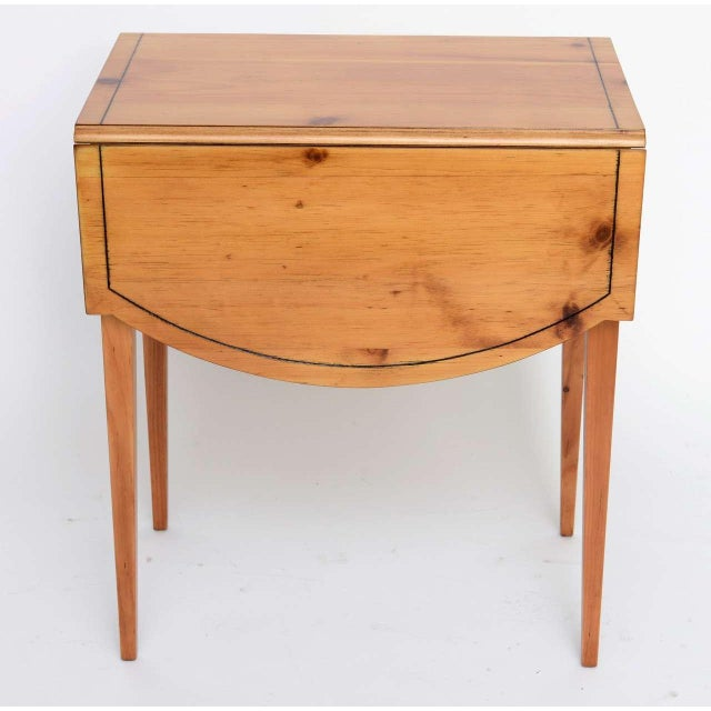Charming Maryland Pine Pembroke Table - Image 5 of 11