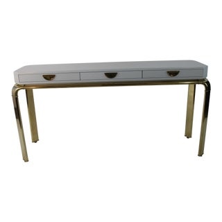 John Whiticomb for Mastercraft Furniture Console Table