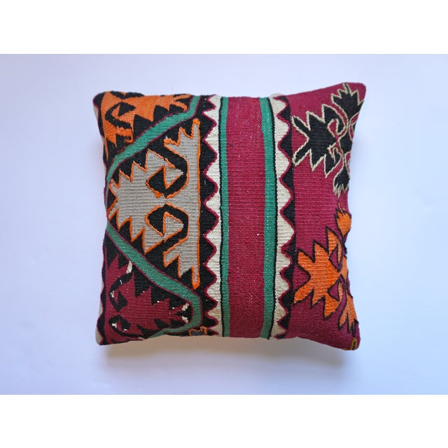 16x16 Kilim Pillowcase - Image 2 of 5