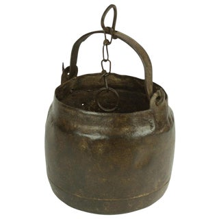 Hanging Metal Oil Pot