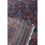 """Image of Antique Brown & Red Persian Rug - 3'2"""" x 5'5"""""""