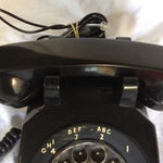 Image of Vintage Black Western Electric Telephone