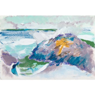 Crashing Surf, Carmel Painting by Robert Canete