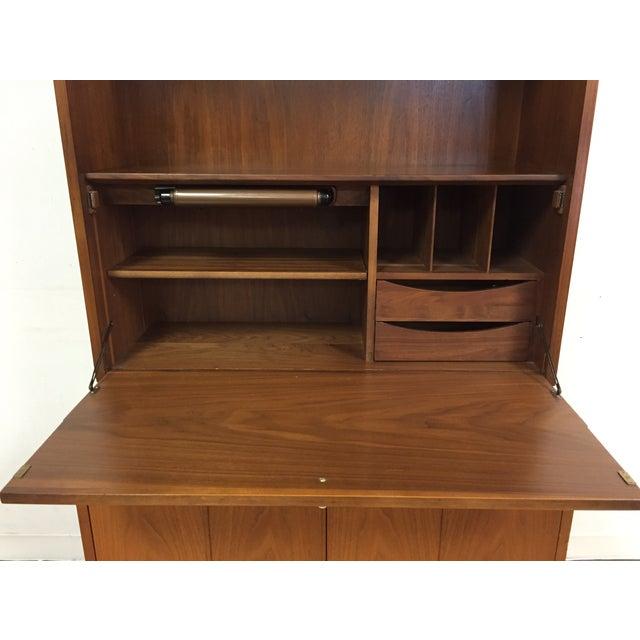 Drexel Kipp Stewart Bookcase Desk - Image 7 of 11