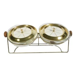 Vintage Mid-Century Chafing Dish