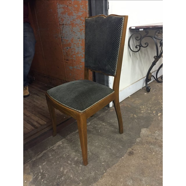 Art Deco Dining Chairs - Set of 6 - Image 3 of 4