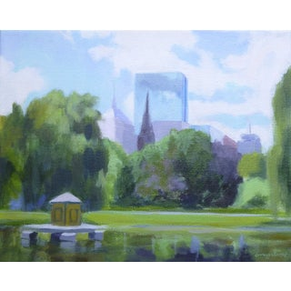 Boston Public Garden by Anne Carrozza Remick