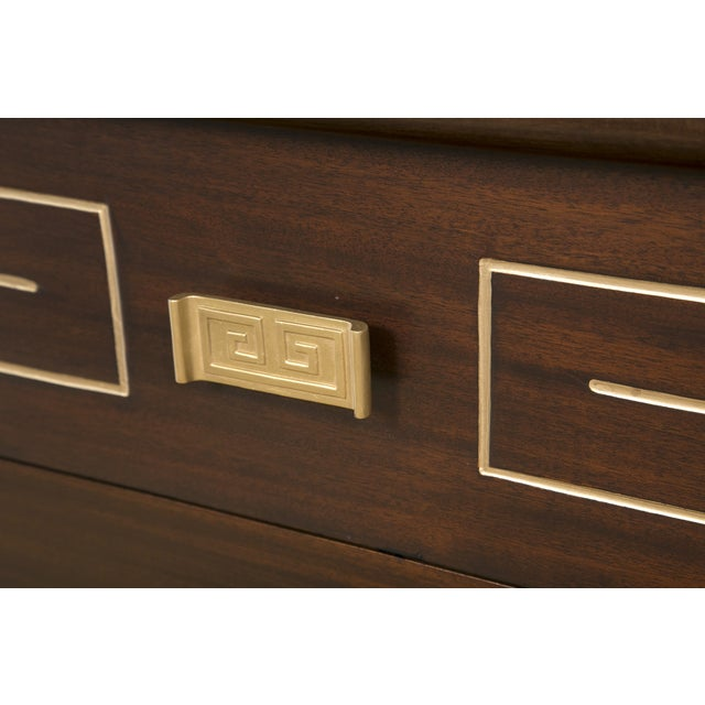 Tommi Parzinger Style Gold Detailed Sideboard - Image 6 of 10