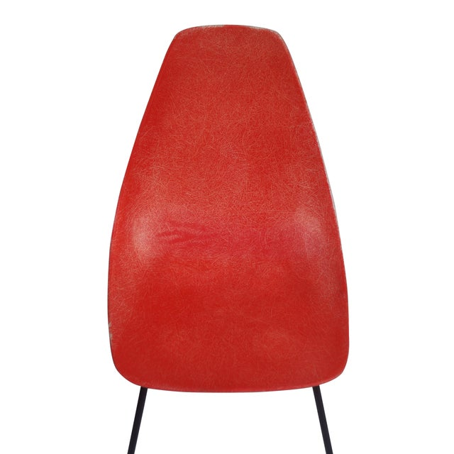 Vintage 1960s Fiberglass Shell Chairs - Set of 4 - Image 3 of 9