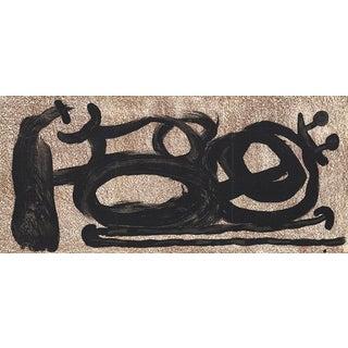 Joan Miro, Untitled, 1967 Lithograph