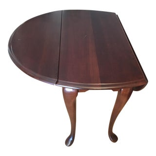Queen Anne Double Drop Leaf Side Table