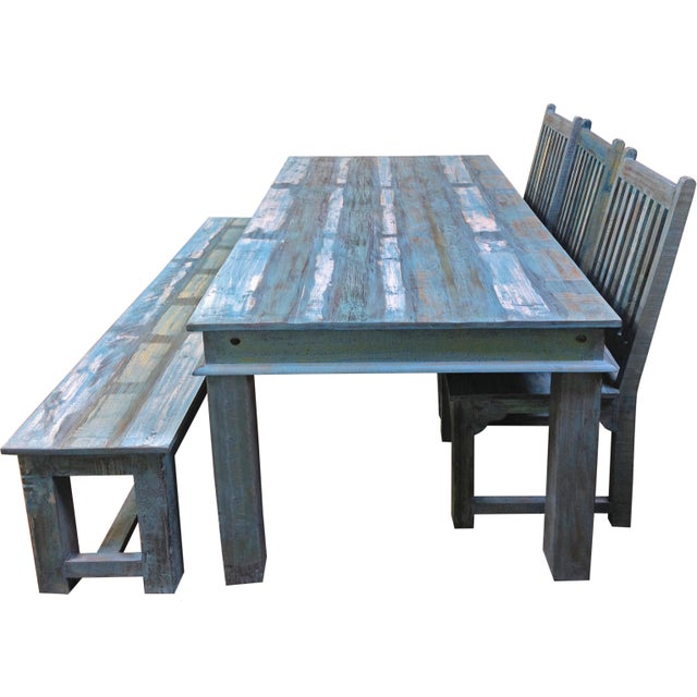 Brix Lagoon Dining Table - Image 4 of 5