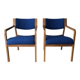 Mid-Century Modern Bentwood Thonet Armchairs - A Pair