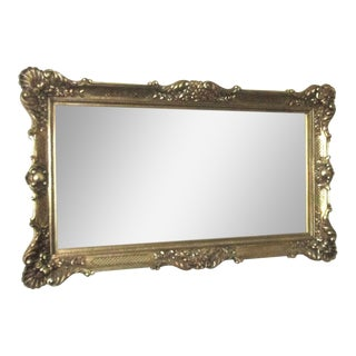 Rococo Style Gold Composition Mirror