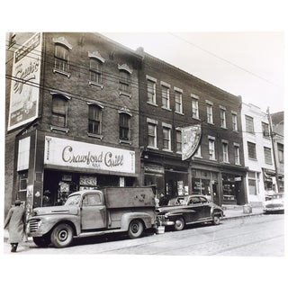Original C. Harris Vintage Storefronts Photograph