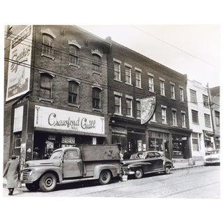 Original C. Harris Vintage Storefronts Photograph
